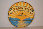 Golden West Oil Company Pump Plate