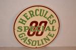 Hercules Gasoline Pump Plate