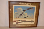 Remington Framed Sign