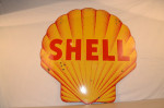 Shell Double-Sided Porcelain Shell Shape Sign