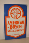 American-Bosch Double-Sided Sign