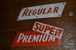 Super Test Single-Sided Porcelain Signs