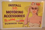 S-P Motoring Accessories Single-Sided Poster
