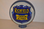 Richfield Lp Metal Globe