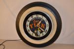Fisk Tire Clock