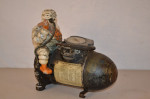 Michelin Man Figural Air Compressor
