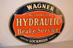 Wagner Brake Service Single-Sided Sign