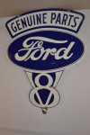 Ford Double-Sided Porcelain Diecut Sign