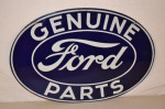 Ford Double-Sided Porcelain Oval Sign