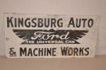 Ford Single-Sided Tin Sign