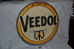 Veedol Double-Sided Tin Sign