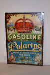 Red Crown & Polarine Tin Sign
