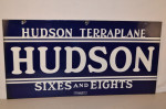 Hudson Double-Sided Porcelain Sign