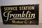 Franklin Single-Sided Porcelain Sign