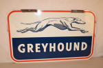 Greyhound Double-Sided Tin Sign