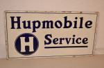 Hupmobile Double-Sided Porcelain Sign