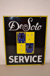 Desoto Double-Sided Porcelain Sign