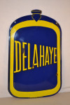 Delahaye Double-Sided Porcelain Diecut Sign