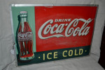 Drink Coca-Cola Single-Sided Tin Sign