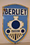 Berliet Automobiles Double-Sided Porcelain Sign