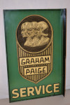 Graham Paige Tin Flange Sign