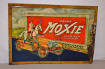 Drink Moxie Tin Self-Framed Sign