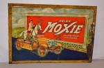 Drink Moxie Tin Self-Framed Sign