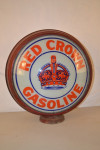 Red Crown Hp Metal Globe