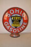 Sohio Gasoline Lp Metal Globe