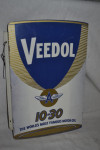 Veedol Tin Flange Sign