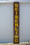 Seiberling Single-Sided Porcelain Neon Vertical Sign