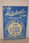 Mitchell Car Double-Sided Porcelain Sign