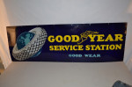 Goodyear Single-Sided Porcelain Sign