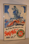 Sinclair H-C Gasoline Poster