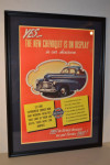 Yes The New Chevrolet Is On Display Framed Poster