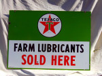 Texaco Single-Sided Porcelain Sign