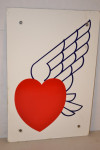 Winged Heart Logo Pump Plate