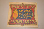 Master Lubricants Decal
