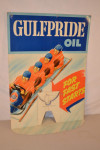 Gulfpride Cardboard Counter-Top Display