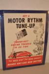 Motor Rythm Paper Poster
