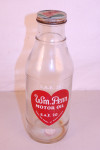 Wm. Penn Motor Oil Glass Oil Bottle