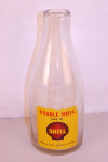 Shell Glass Oil Bottle