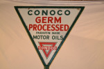 Conoco Double-Sided Porcelain Curb Sign
