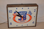 Justice Bros Metal Clock