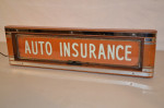 Auto Insurance Counter-Top Neon Light