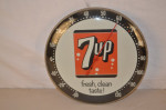 7up Round Thermometer