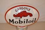 Mobiloil Gargoyle Opc Oval Milkglass Globe