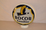 Rocor Gasoline Lp Metal Globe