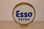 Esso Extra Lp Metal Globe