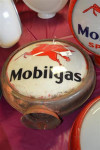 Mobilgas With Pegasus Hp Metal Globe